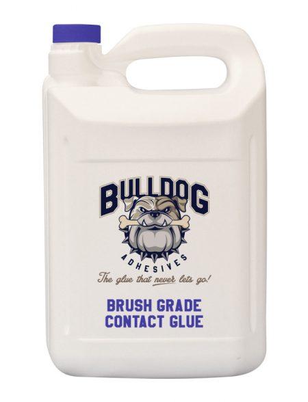 Brush grade contact glue