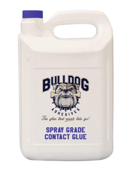 Spray grade contact glue