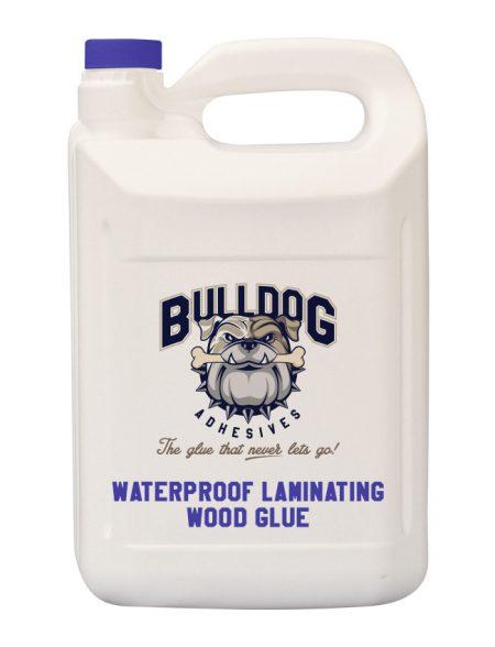 Waterproof laminating wood glue